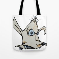 Skanking Wolf (head Only… Tote Bag