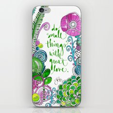 Small Things Terrarium iPhone & iPod Skin