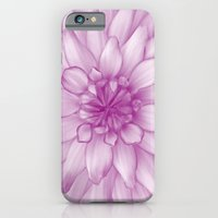 iPhone & iPod Case featuring Dahlia Radiant Orchid  - JUSTART © by JUSTART