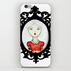 Just a portrait iPhone & iPod Skin