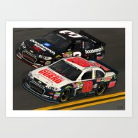 The #Earnhardt's At #Day… Art Print
