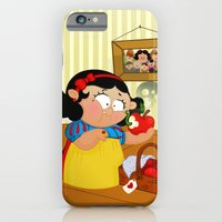 iPhone & iPod Case featuring Snow White by Alapapaju
