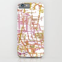 NYC Map Lines iPhone 6 Slim Case