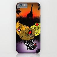 Big Cat Safari iPhone 6 Slim Case