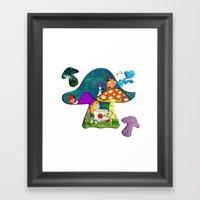 alice #2 Framed Art Print