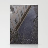 Youth Hostel found in a Puddle Stationery Cards