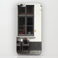 Closed Cafe No.2 iPhone & iPod Skin