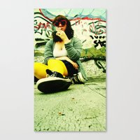 For the Love of Color Canvas Print