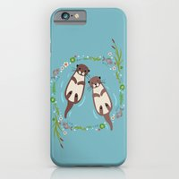 iPhone & iPod Case featuring My Significant Otter by Teacuppiranha