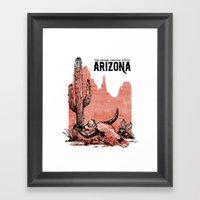 Arizona Framed Art Print