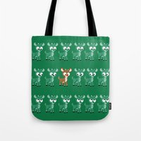 Look, It's Rudolph! (v2) Tote Bag