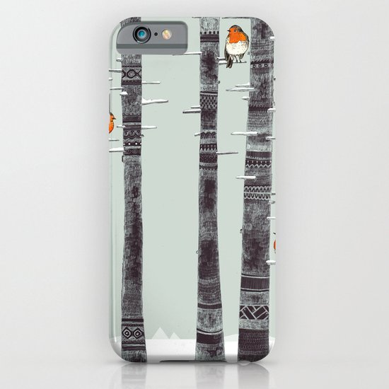 Robin Trees iPhone & iPod Case