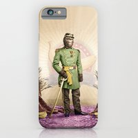 iPhone & iPod Case featuring General Simian of the Glorious Banana Republic by Peter Gross