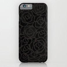 Cluster of Black Roses Slim Case iPhone 6s