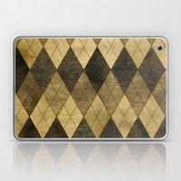 Wooden big diamond Laptop & iPad Skin