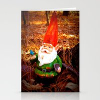 Mr. Gnome Stationery Cards