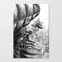 Sky Bird Canvas Print