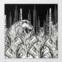 Camouflage II In Uzu Jun… Canvas Print