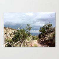 Impending Storm Canvas Print