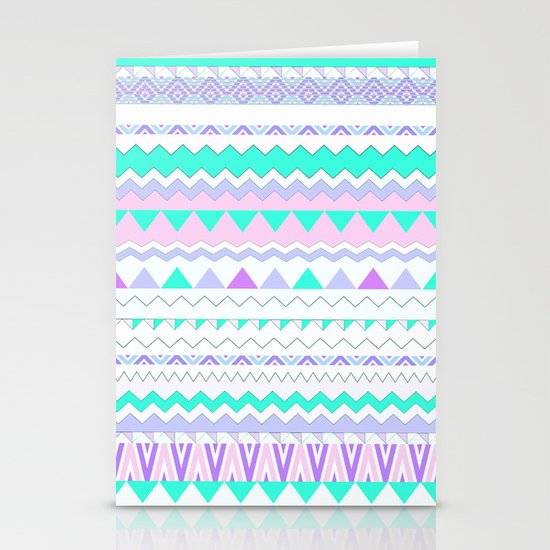 TWIN SHADOW by Vasare Nar and Kris Tate Stationery Card