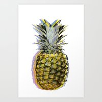 Some People Call Me the Space Pineapple Art Print