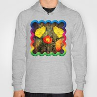 Yellow and Red Poppies Hoody