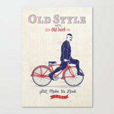 Old Style Trick Canvas Print