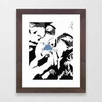 Smoky Kiss  Framed Art Print