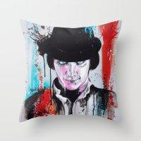 A Clockwork Orange - ALEX Throw Pillow