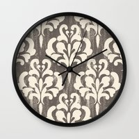 Damask1 Wall Clock