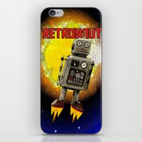 :: RETRONAUT iPhone & iPod Skin