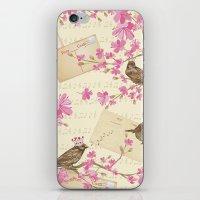 Love Letters - Cute Spar… iPhone & iPod Skin