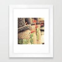 mr. sparkles  Framed Art Print