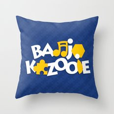 Banjo-Kazooie - Blue Throw Pillow