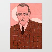 Canvas Print featuring Nucky Thompson by Le Butthead