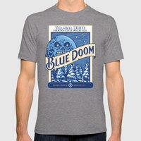 Blue Doom Mens Fitted Tee Tri-Grey SMALL