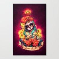 Día De Los Muertos Canvas Print