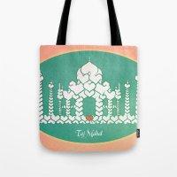 Taj Mahal is Love Tote Bag