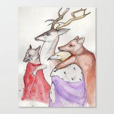 Lament Canvas Print