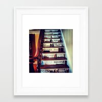 Unique Staircase Framed Art Print