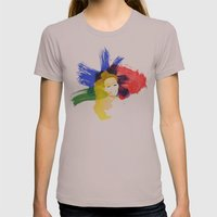 Be Daring Womens Fitted Tee Cinder SMALL