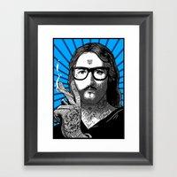 Jesus Bane #02 Framed Art Print