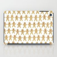 Gingerbread people iPad Case
