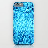 turquoise iPhone & iPod Cases featuring TURquoise Pixel Wind by 2sweet4words Designs