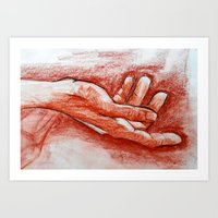 Outstretched Art Print