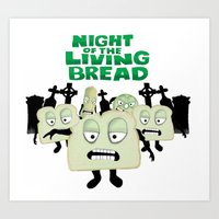 Night Of The Living Brea… Art Print