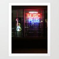 Music Always Round us Art Print