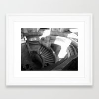 Framed Art Print featuring Stairway to Heaven by Amy Taylor