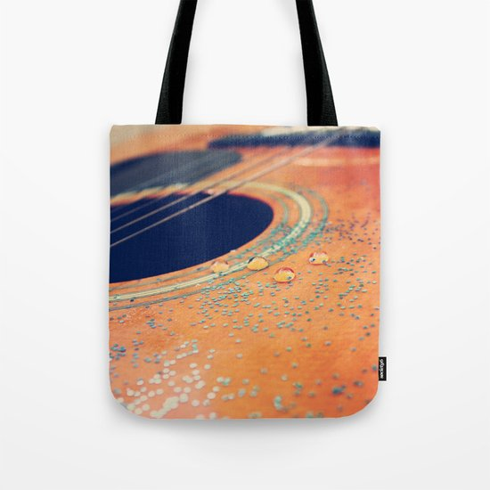 Teardrops on my Guitar Tote Bag