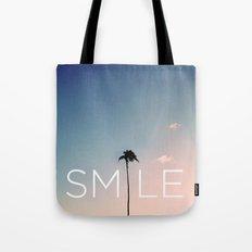 Palm tree Smile Tote Bag